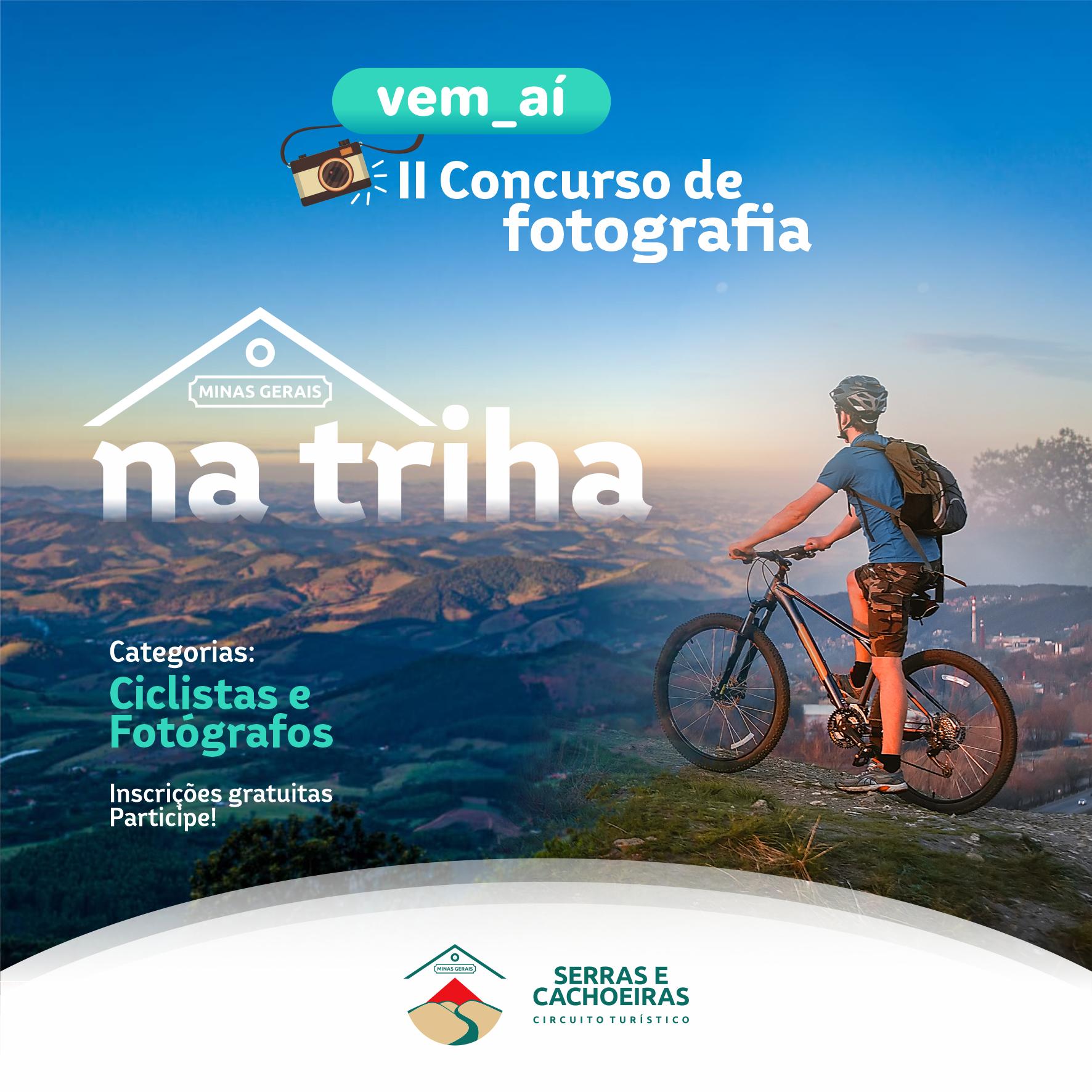 Circuito Turístico Serras e Cachoeiras realiza, no mês de junho, o 2º Concurso de Fotografia