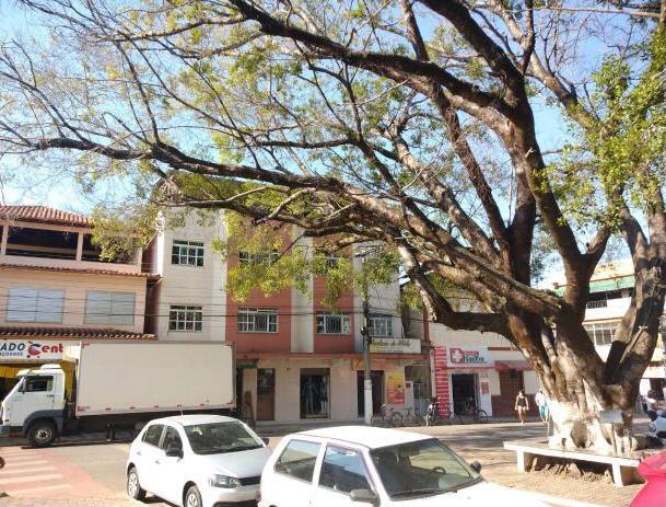 Despedida de uma das árvores do conjunto paisagístico da Praça Guarurama