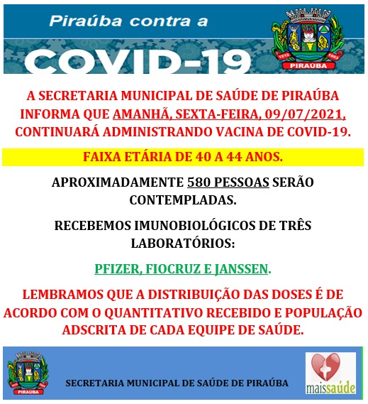 INFORMATIVO VACINA COVID-19