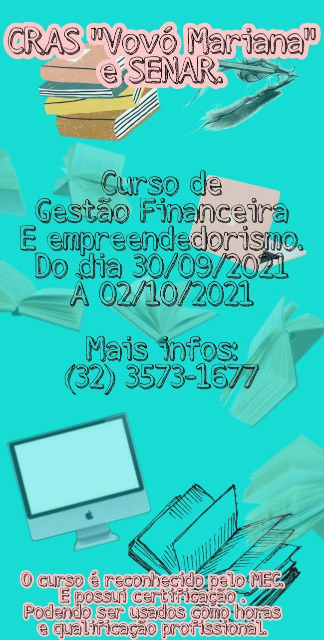 CURSO DE GESTÃO FINANCEIRA E EMPREENDEDORISMO